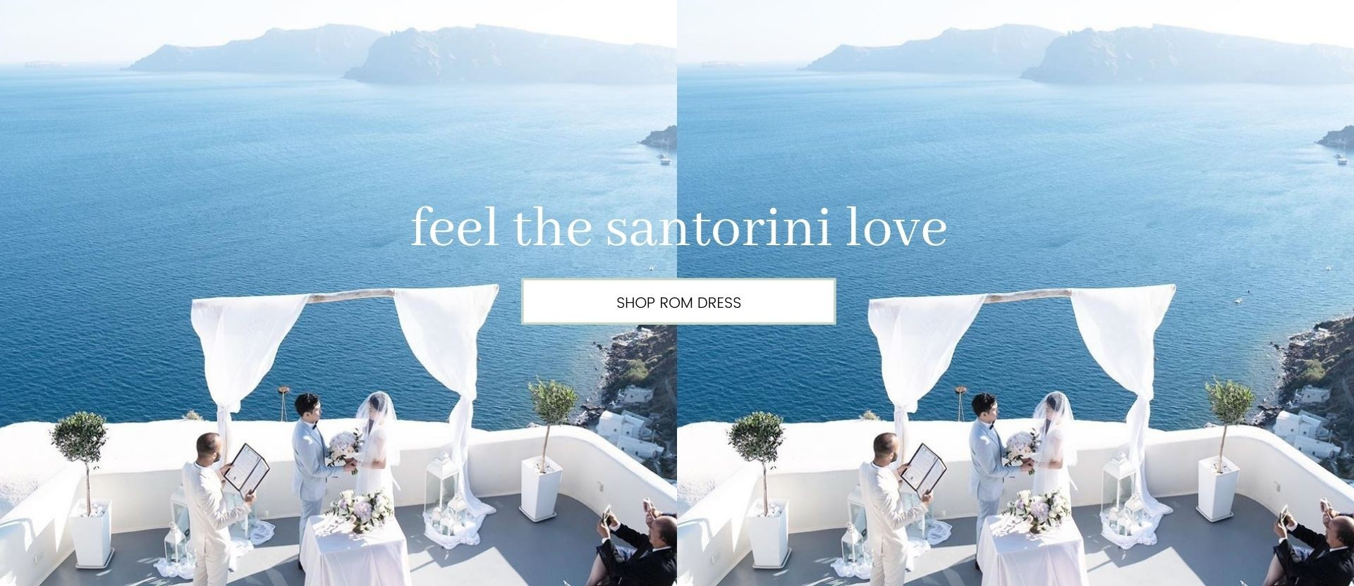 SANTORINI GREECE: ROM CEREMONY