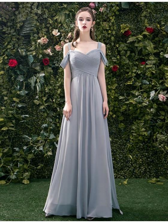 Sylvie Dress (Misty Grey)