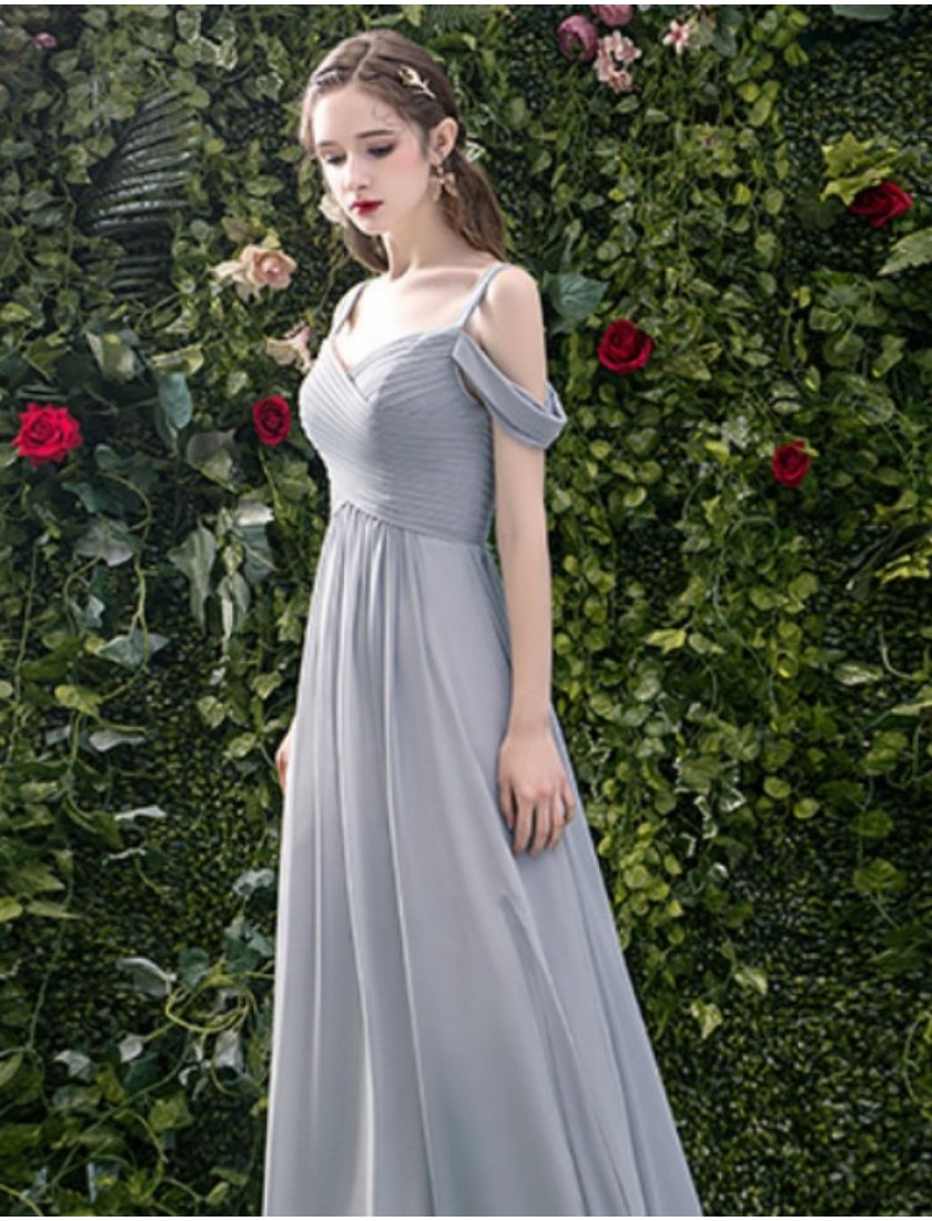 Sylvie Dress (Misty Grey)
