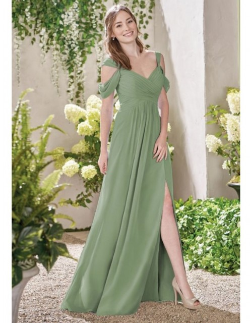 Sylvie Dress (Dusty Sage)