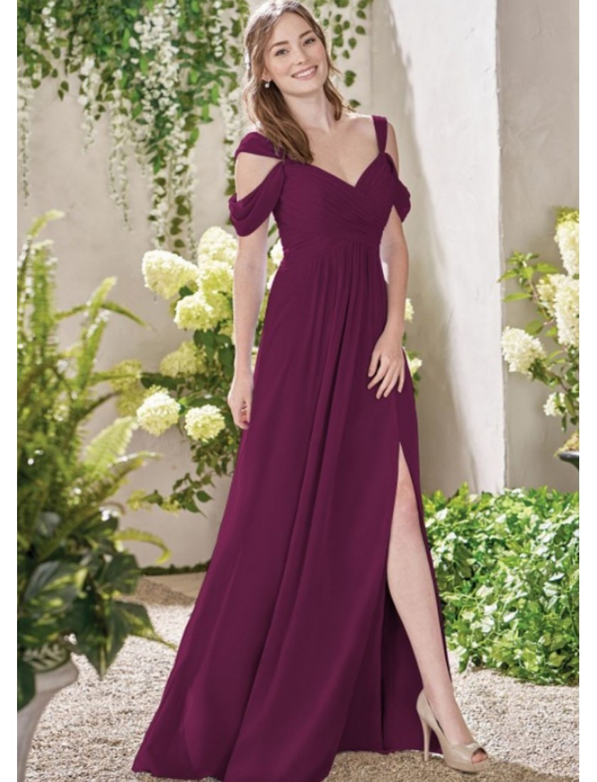 Sylvie Dress (Burgundy)
