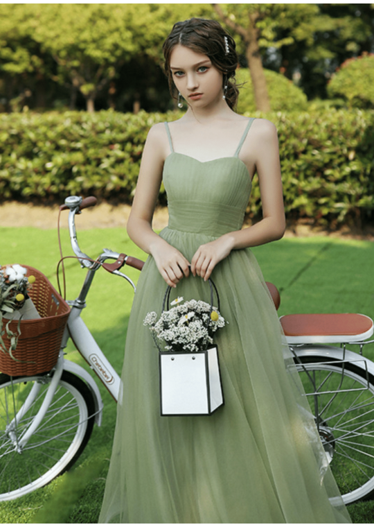 Lyra Dress (Sage Green)