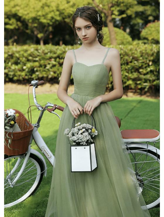 Lyra Dress (Sage Green)