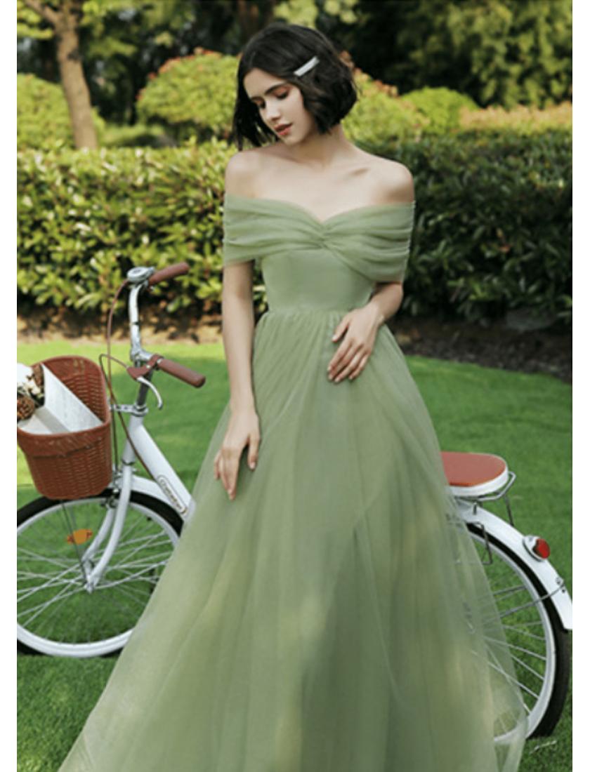 Letha Dress (Sage Green)