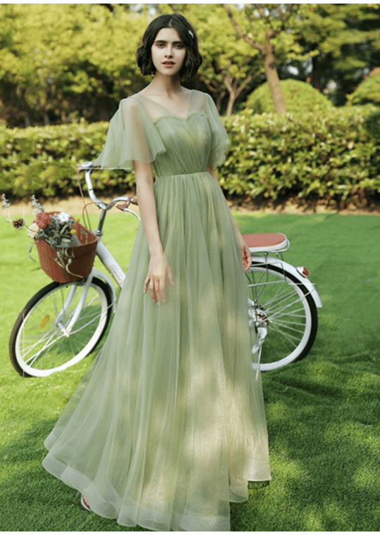 Lilis Dress (Sage Green)