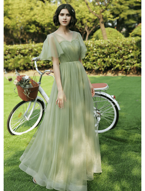 Lilis Dress (Sage Green)
