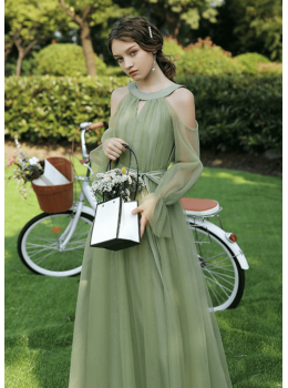 Leora Dress (Sage Green)