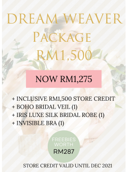 3. DREAM WEAVER Package | RM1,500