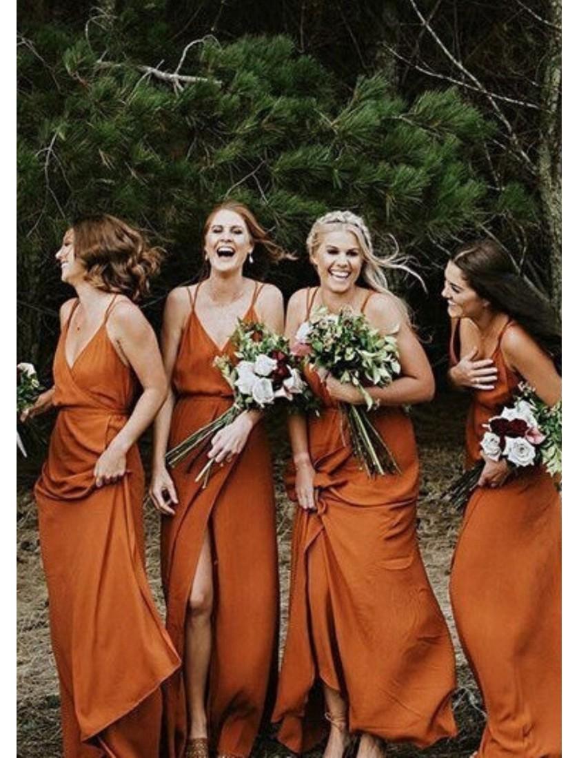 Fleurine Dress (Burnt Orange)