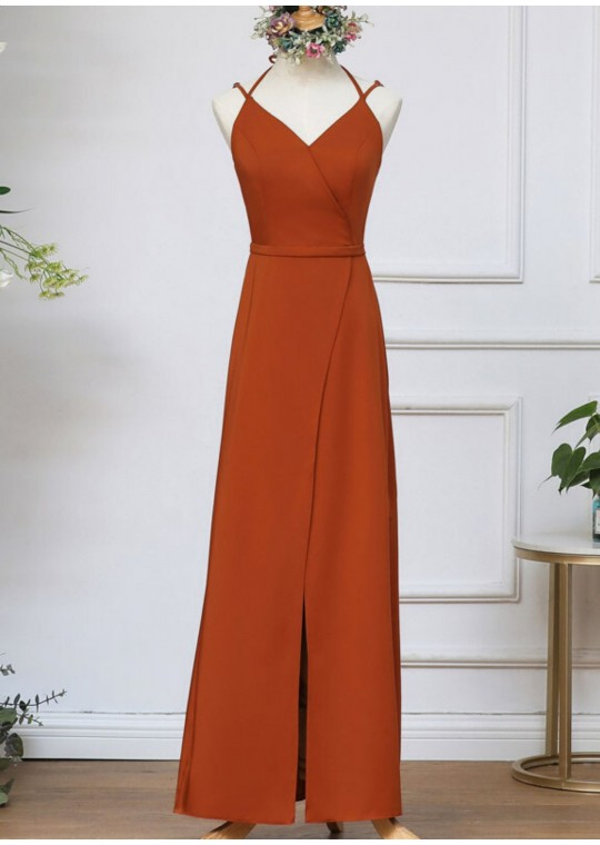 Fleurine Dress (Burnt Orange)