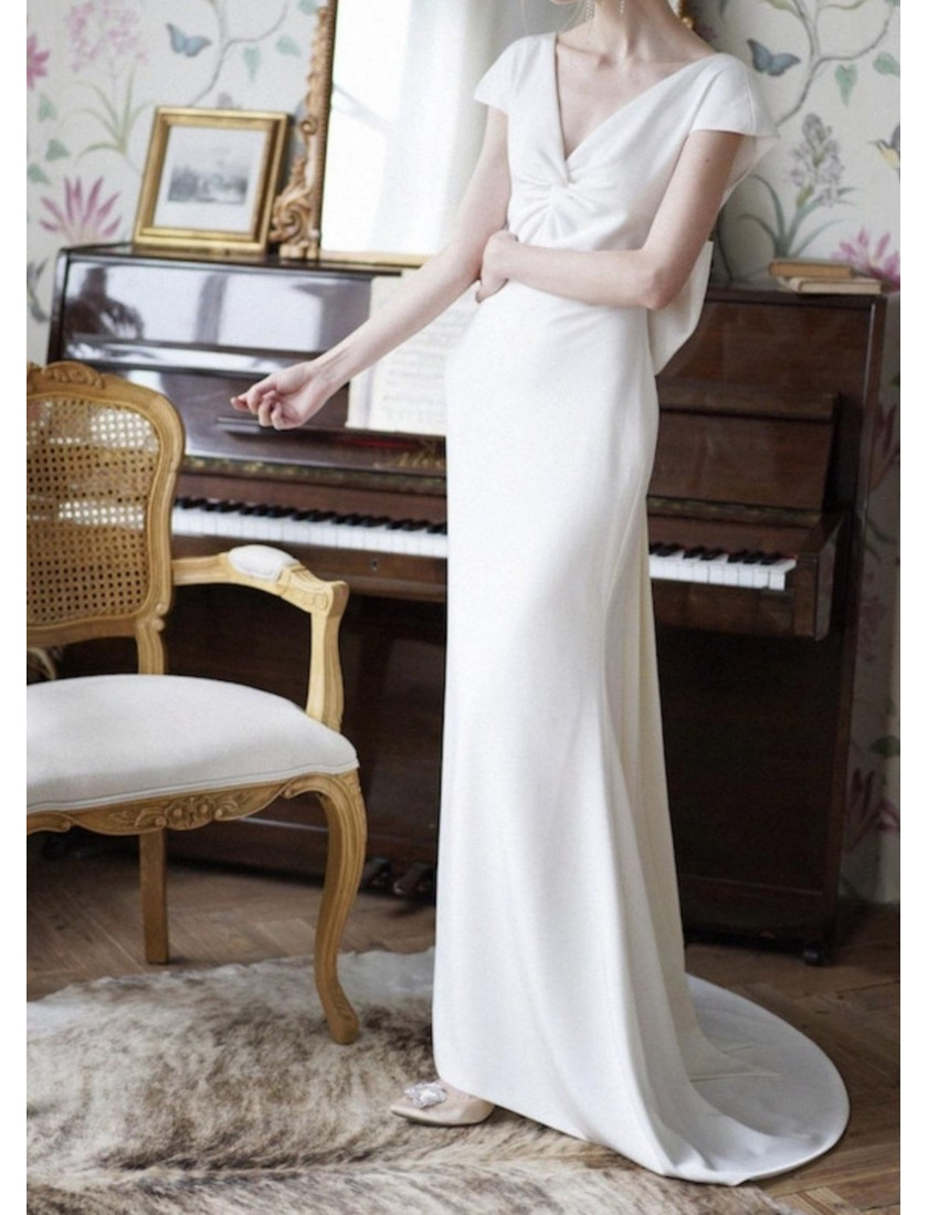 Couture Collection | Louvre Dress (Ivory White)