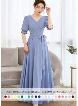 Elania Dress (Custom Color)