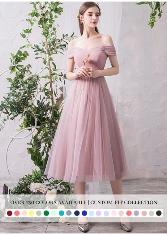 Bella Midi Dress (Custom Color)