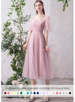 Gianna Midi Dress (Custom Color)