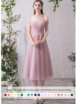Sienna Midi Dress (Custom Color)