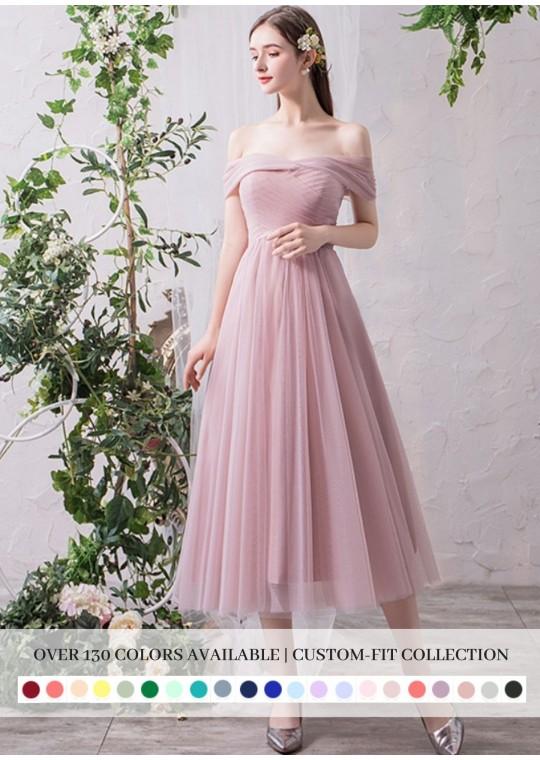 Arianna Midi Dress (Custom Color)