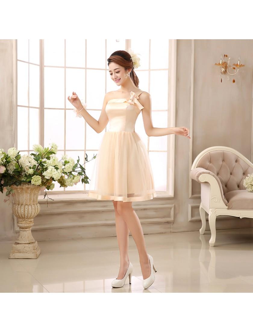 Lita Dress (Champagne)