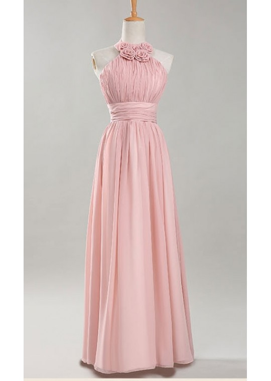 Korina Dress - C (Pink)