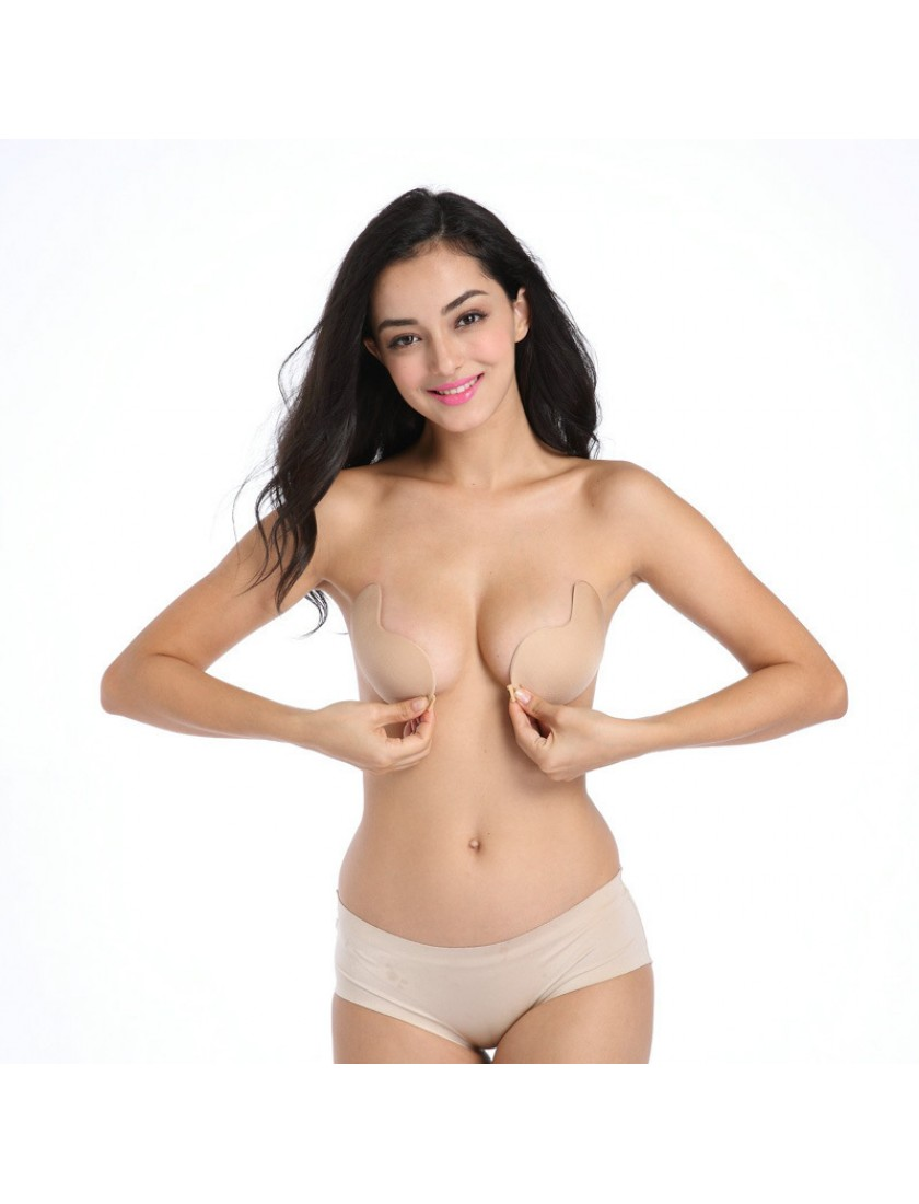 Sofy Invisible Push Up Bra (Nude)