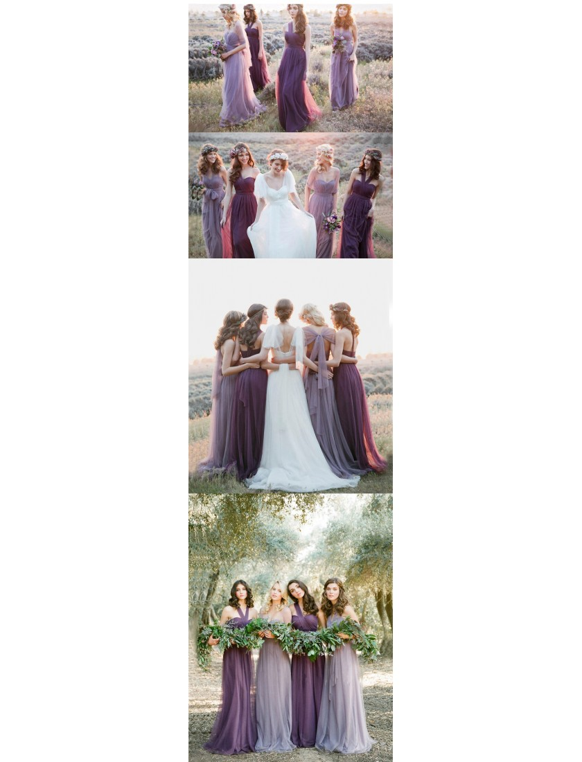 Mirella Convertible Dress (Lavender)