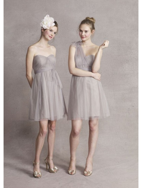 Mirella Convertible Dress (Soft Grey)
