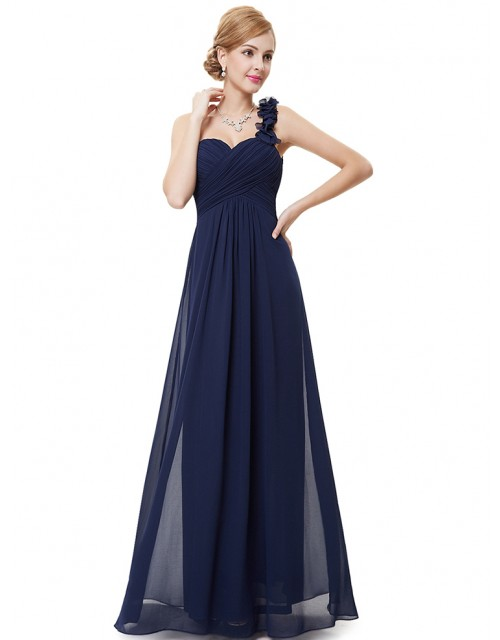 Candelaria Dress (Navy Blue)