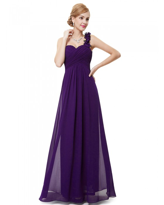 Candelaria Dress (Dark Purple)