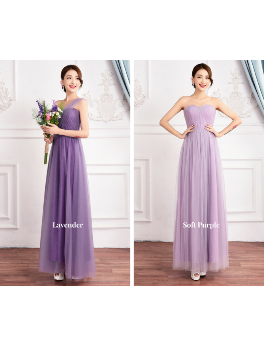 Mirella Convertible Dress (Soft Purple)