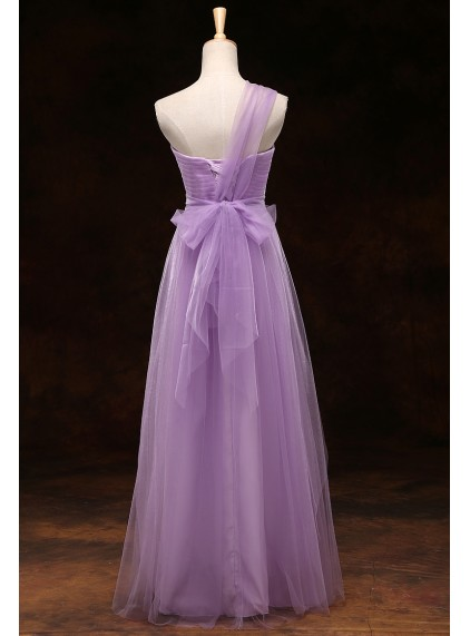 Gorgeous Soft Purple Boho Multiway Convertible Tulle
