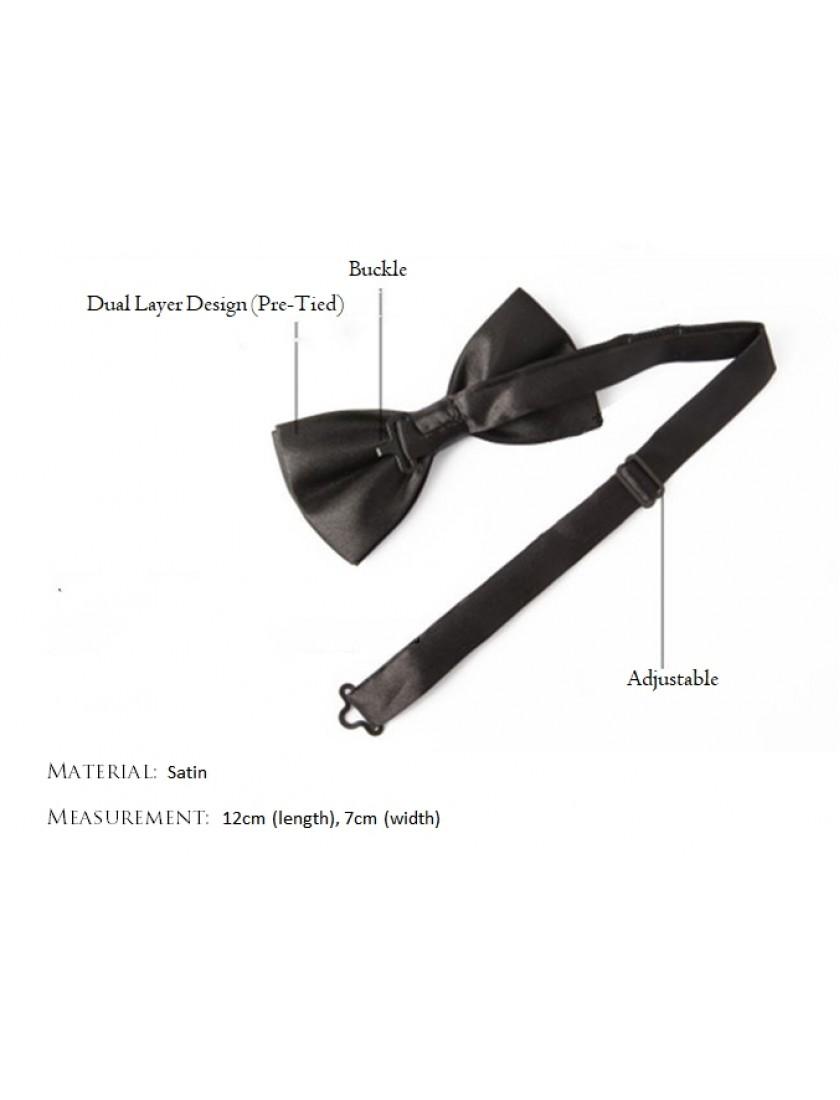 Riccardo Bow Tie (Dark Purple)
