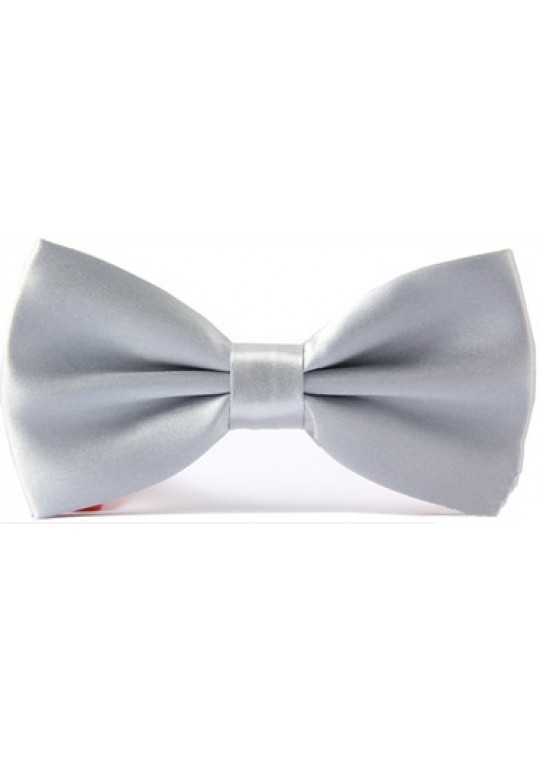Riccardo Bow Tie (Light Grey)