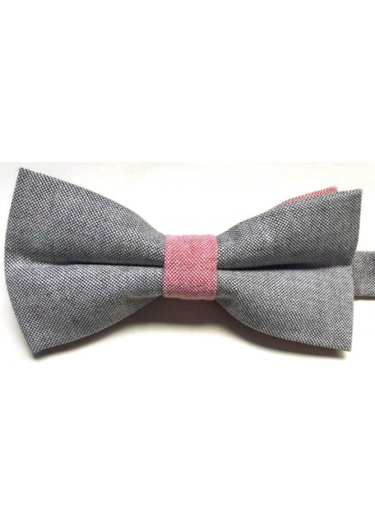 Pantera Bow Tie (Dark Grey)