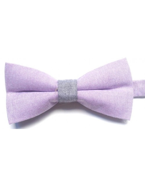 Pantera Bow Tie (Soft Purple)
