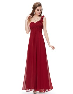 Candelaria Dress (Maroon)