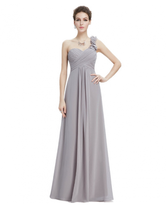 Candelaria Dress (Soft Grey)