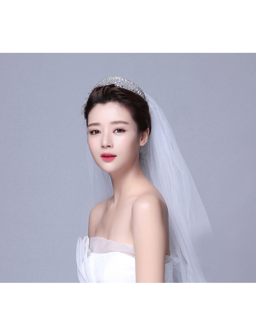 Princess Crown Rhinestones Tiara Bridal Accessories
