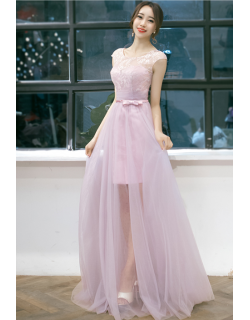 Quennel Dress - C (Dusty Pink)