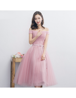 Janell Dress (Soft Pink)