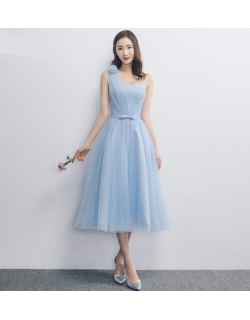 Janey Dress (Sky Blue)