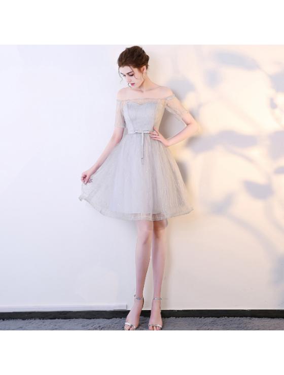 Moreen Dress (Soft Grey)