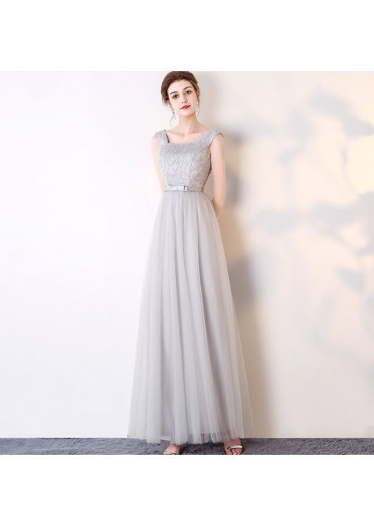 Henya Dress (Soft Grey)