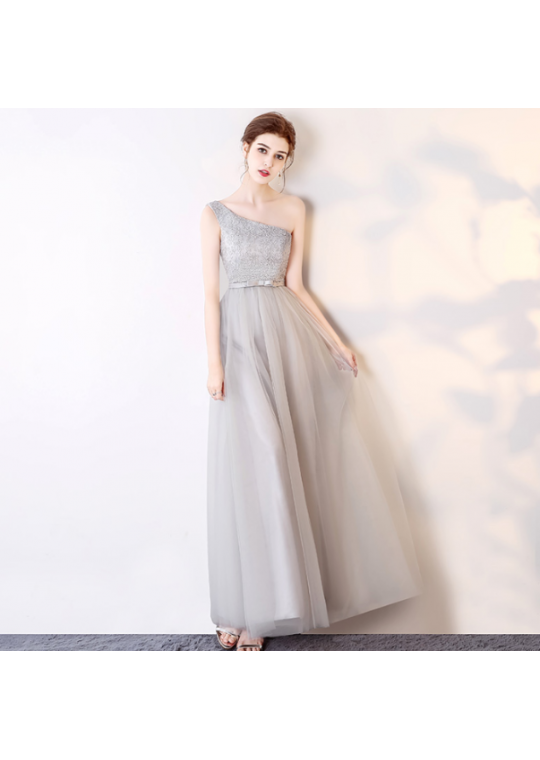 Hazel Dress (Soft Grey)