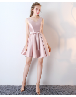 Ozella Dress (Soft Pink)