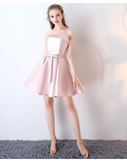 Oriana Dress (Soft Pink)