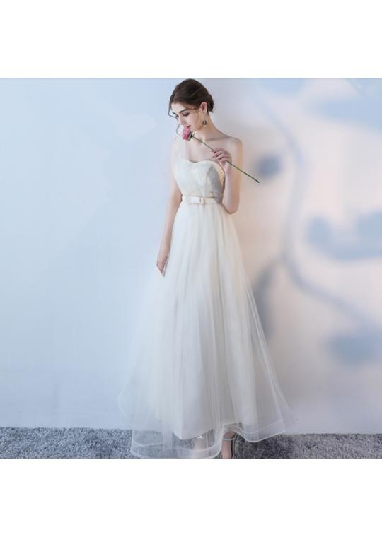 Kalena Dress (Champagne)