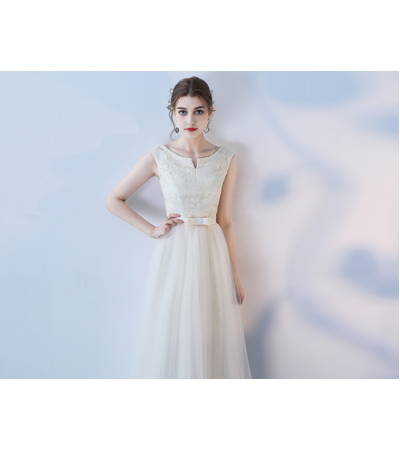 Keona Dress (Champagne)