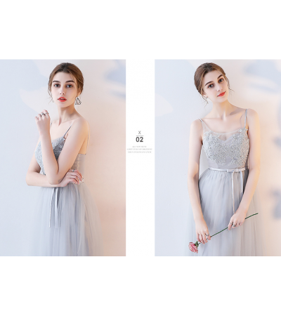 Adelmira Dress (Soft Grey)