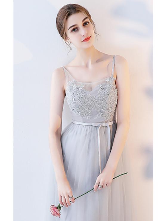 Adelmira Dress (Soft Grey)