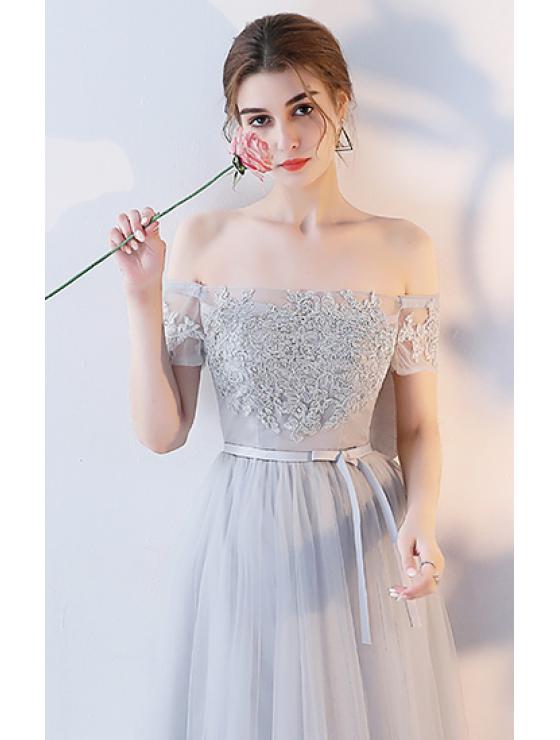 Adriana Dress (Soft Grey)