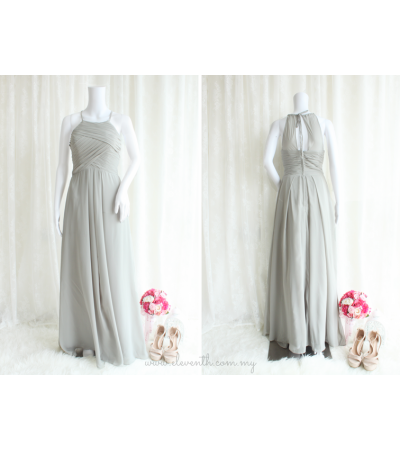 Janice Dress (Soft Grey)